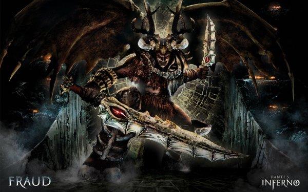 Videojuego Dante's Inferno Fraud Game Hell Espada Monstruo Criatura Fondo de pantalla HD | Fondo de Escritorio