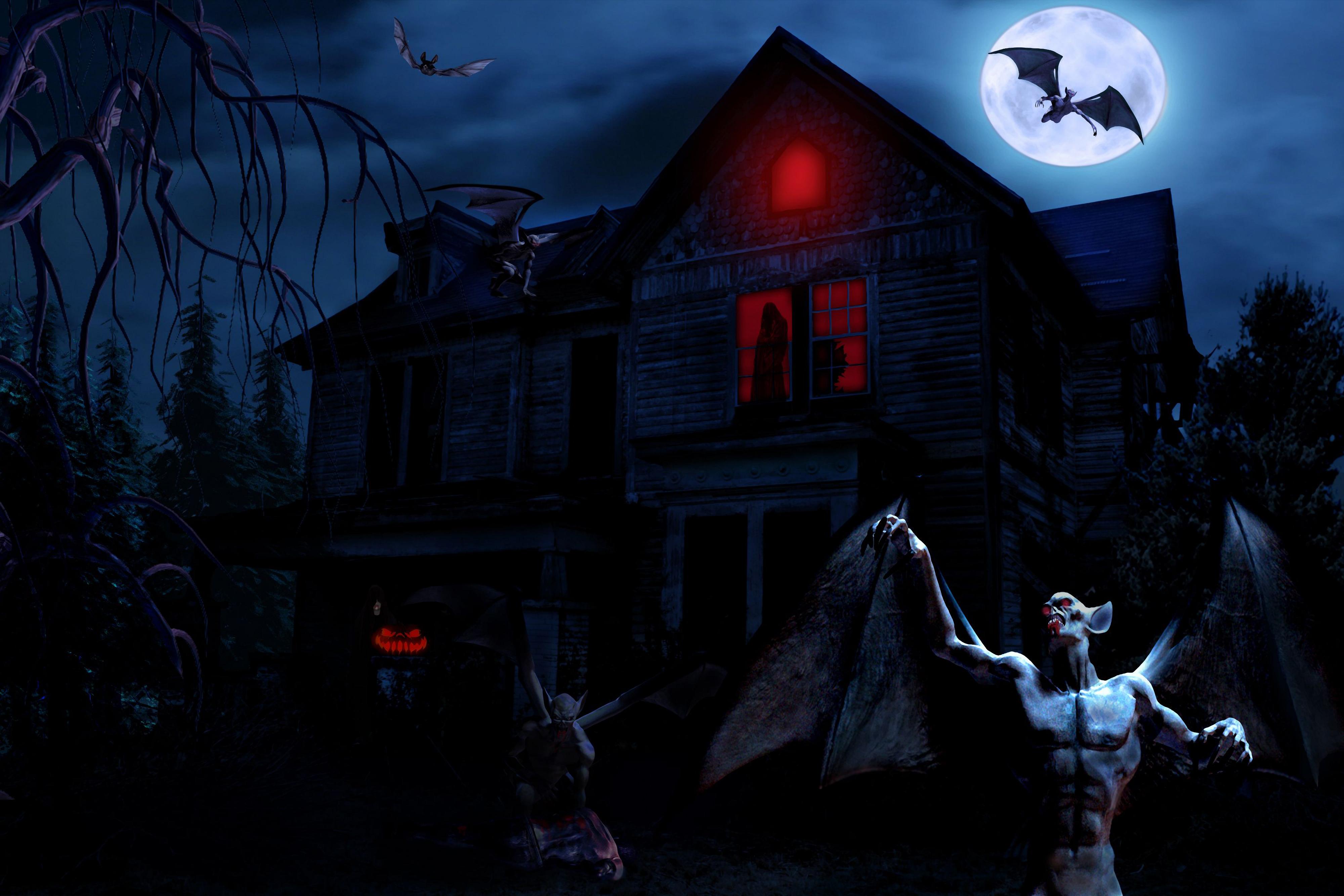 Halloween 4k Ultra HD Wallpaper