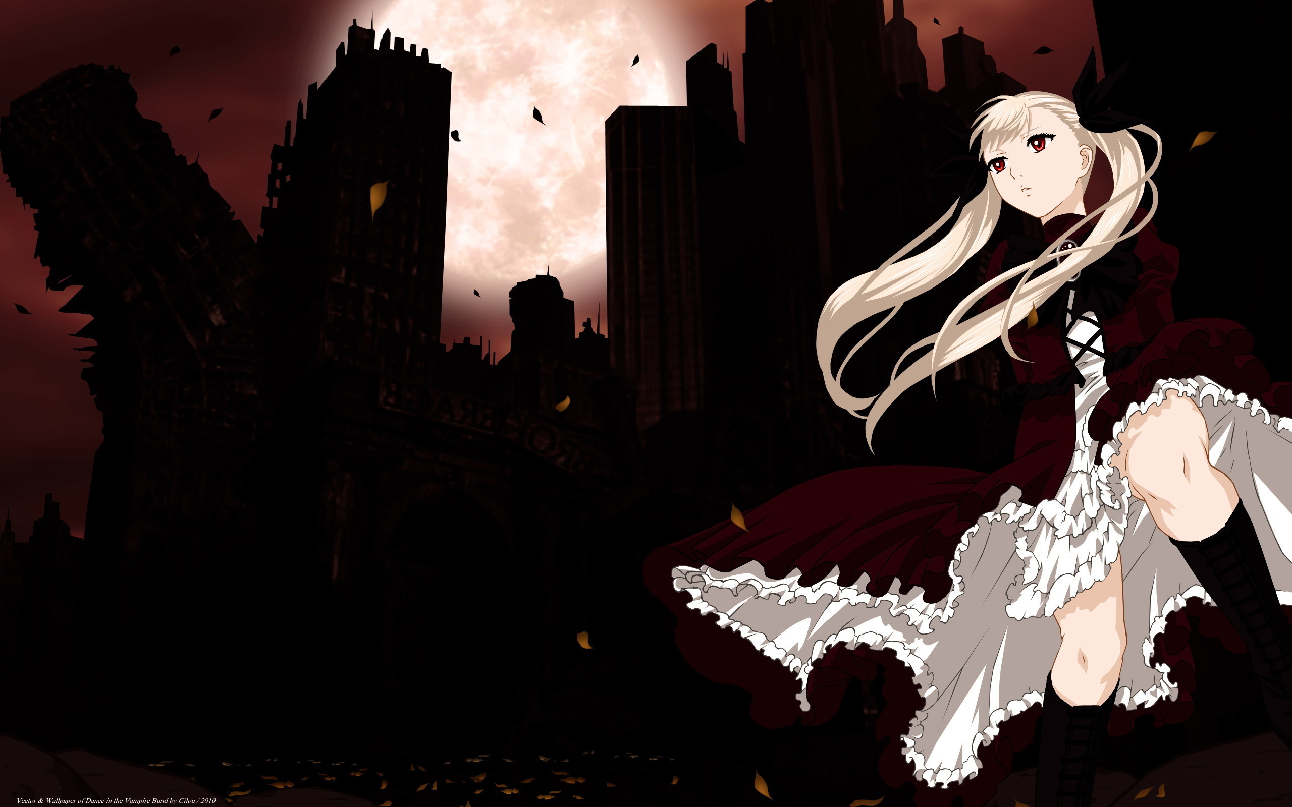 13 Dance In The Vampire Bund Hd Wallpapers Background Images