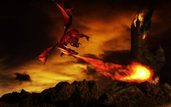 Fantasy - Dragon Wallpapers and Backgrounds ID : 173419