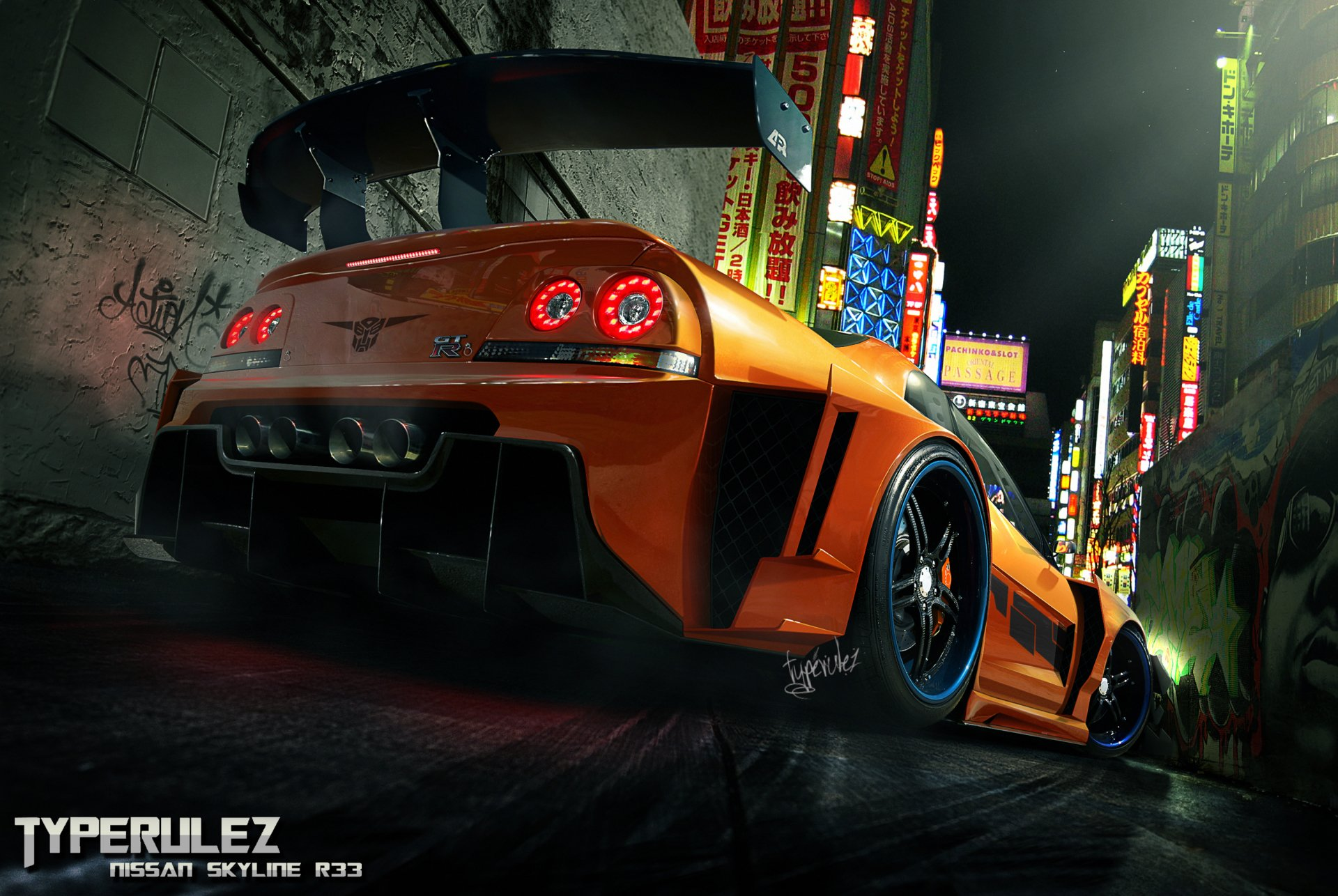 Vehicles - Tuned  Race Car Vehicle Wallpaper