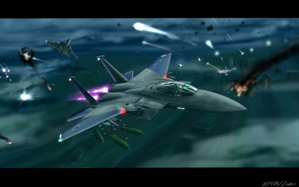Video Game Ace Combat HD Wallpaper   Background Image