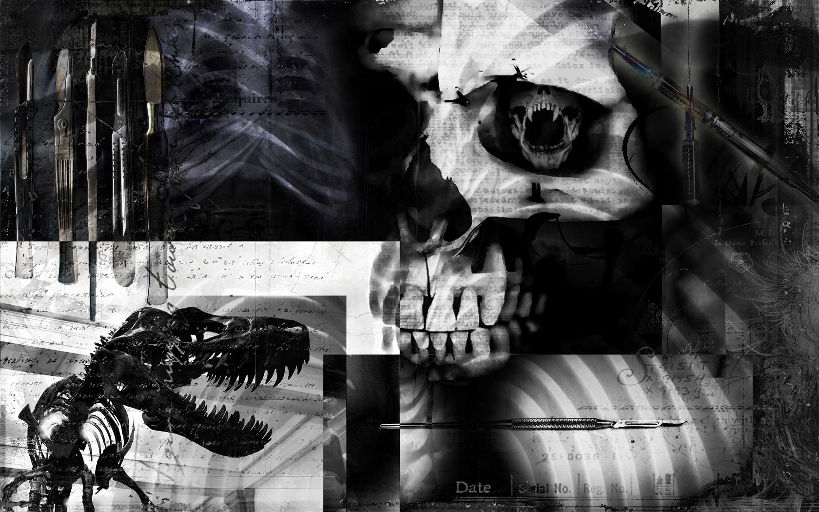 Dunkel - Künstlerisch  Wallpaper