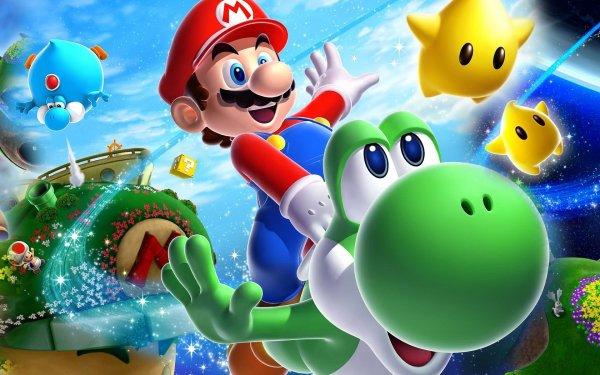 Video Game Super Mario Galaxy Mario Super Mario Galaxy 2 Yoshi HD Wallpaper | Background Image