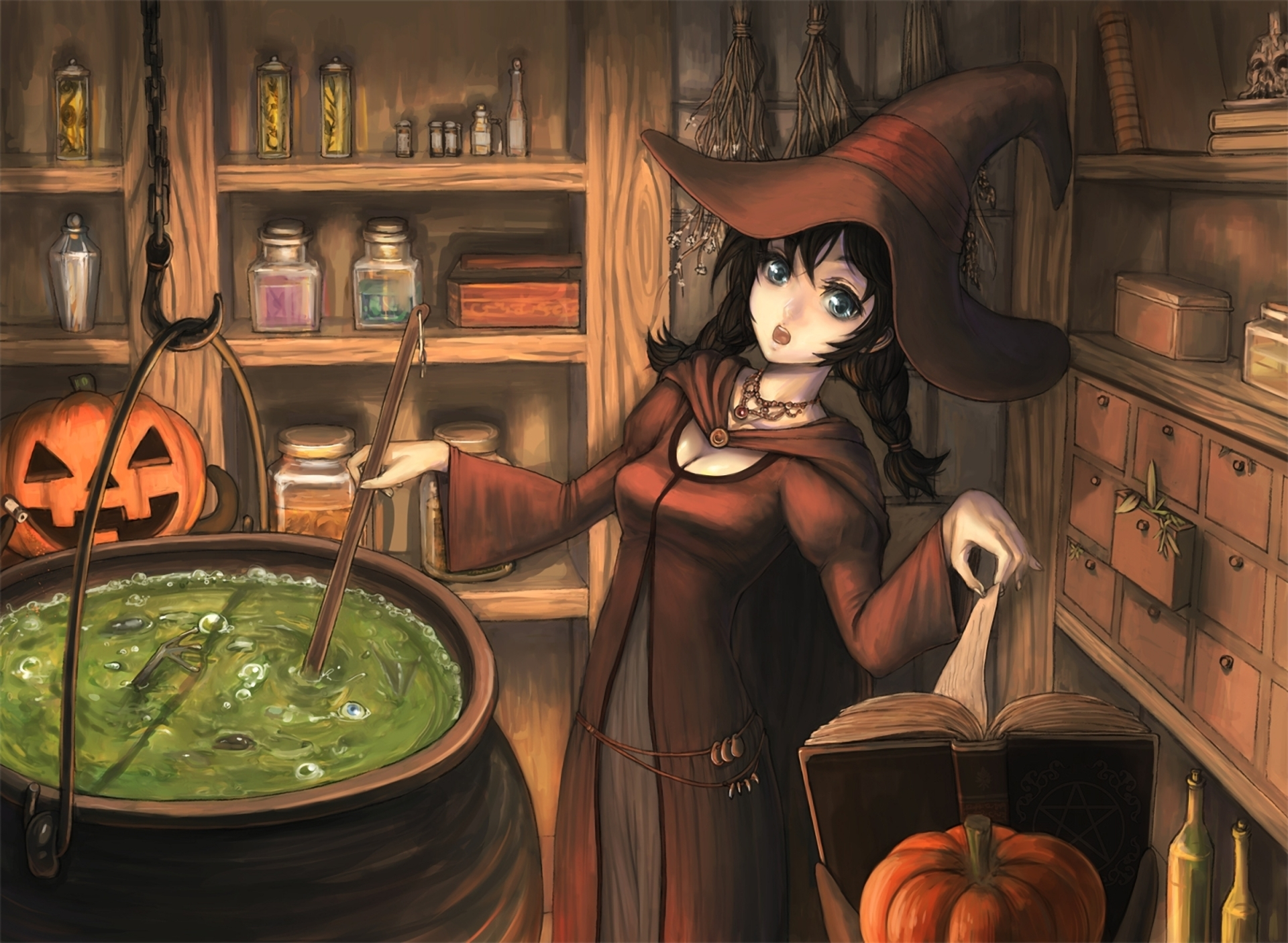 Fantasy - Witch  Wallpaper