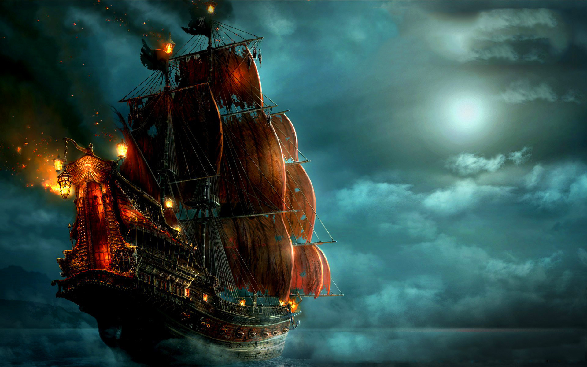 Pirates of the Caribbean: On Stranger Tides HD Wallpaper ...
