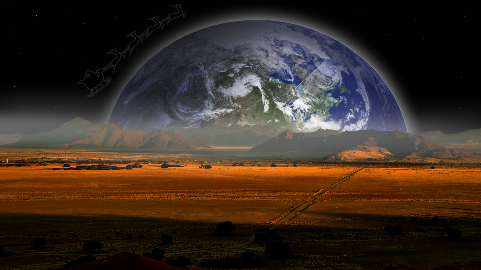 Earth From Earth HD HD Wallpaper