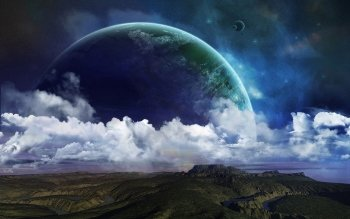 Sci Fi - Planet Rise Wallpapers and Backgrounds ID : 177905