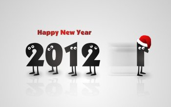 Preview Holiday - New Year 2012 Art