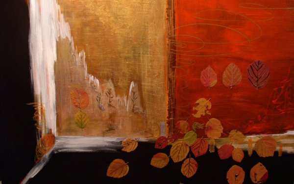 Artistic Painting Leaf Fall HD Wallpaper   Background Image