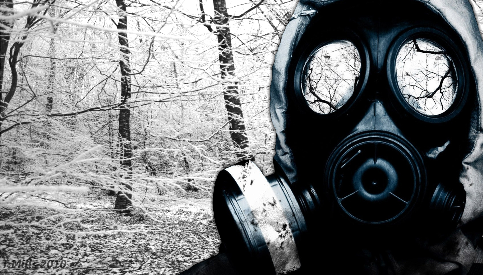 Gas Mask Wallpaper And Background Image 1900x1080 Id178605