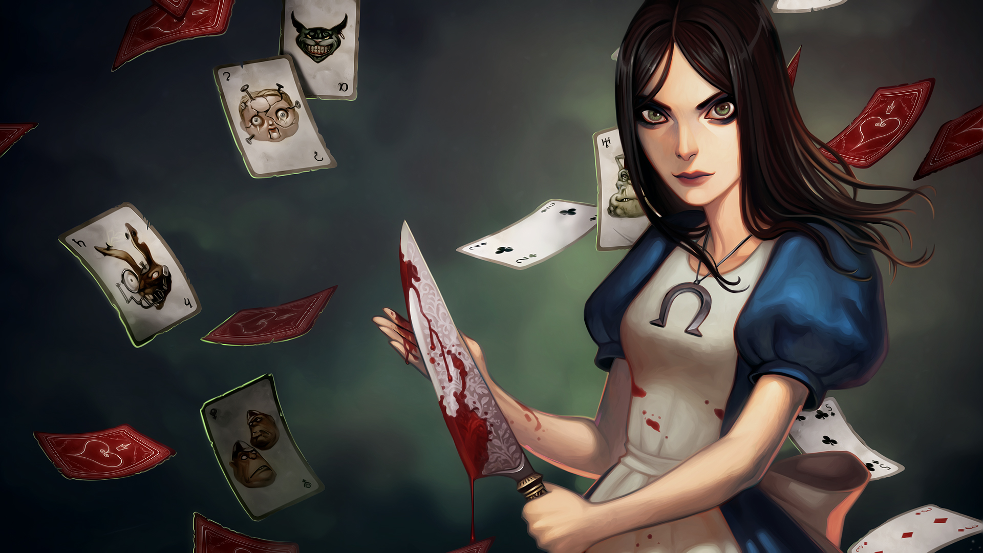 Alice madness returns нож 7