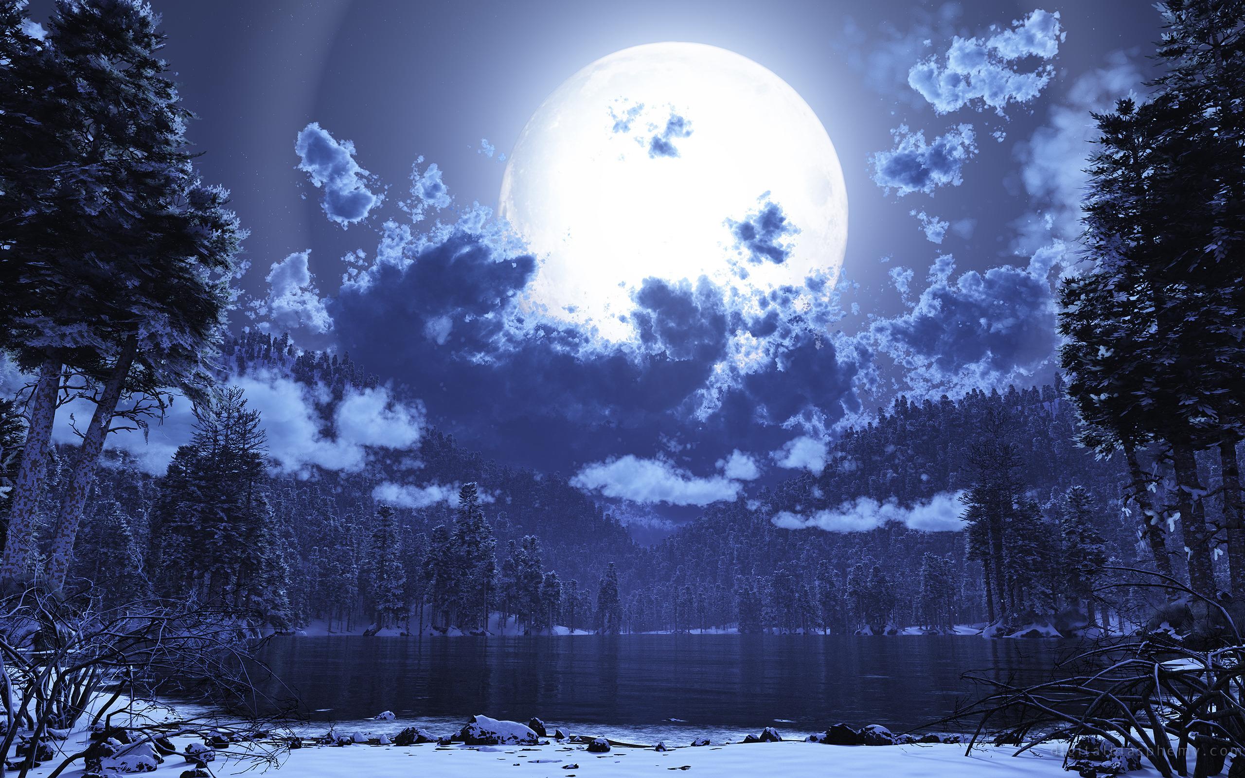 CGI - Moon  Wallpaper