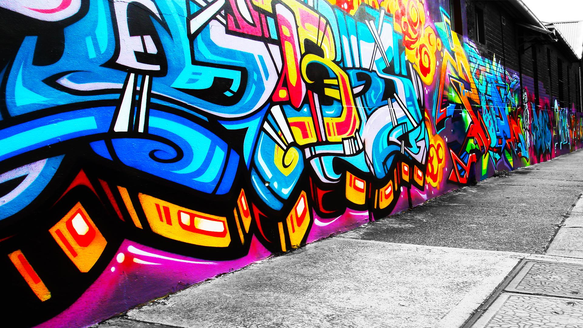 Die besten 10 Graffiti Bilder - Graffiti Schrift und Bilder