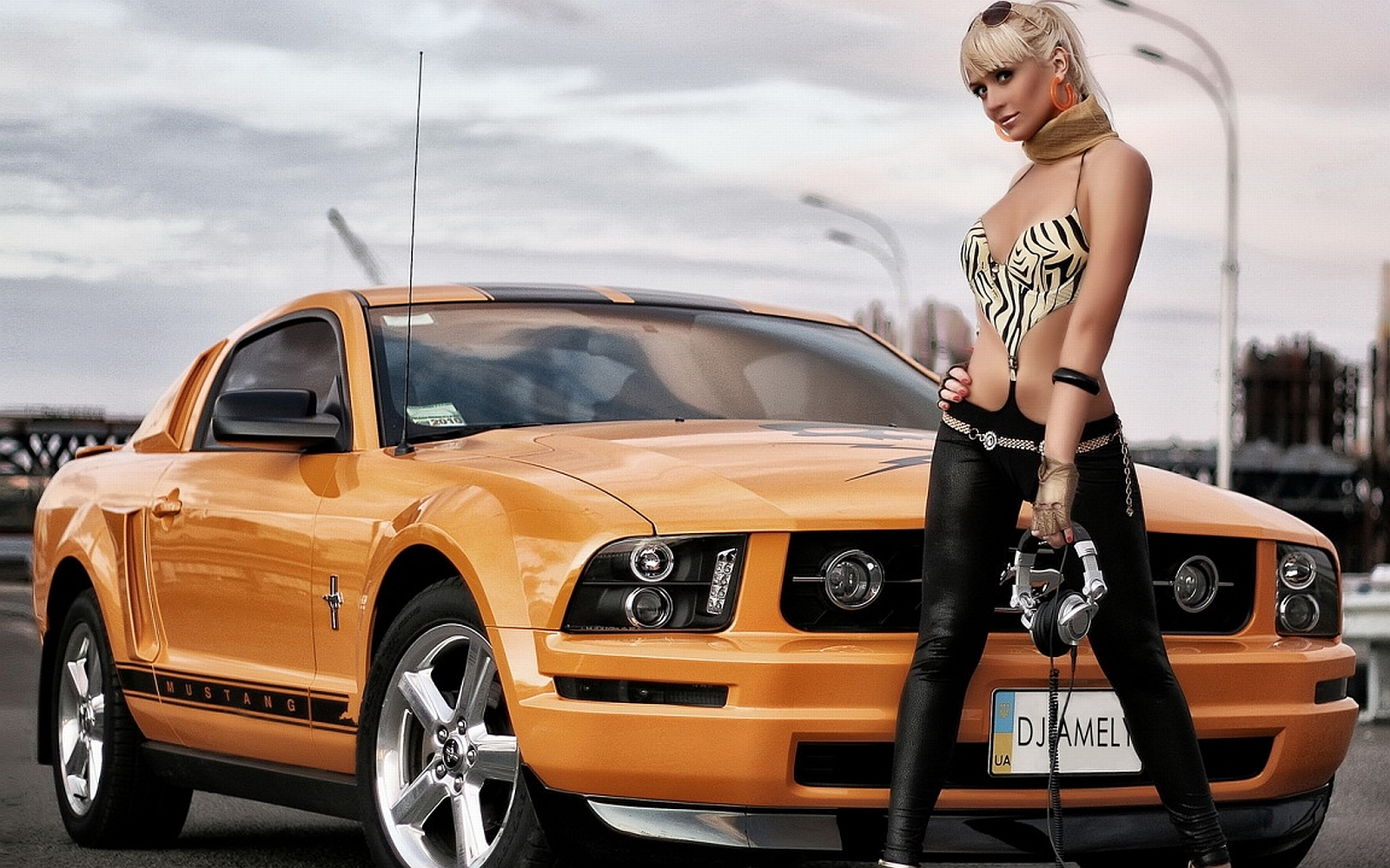 Girls Cars Wallpaper And Background Image