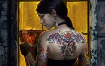 Fantasy - Tattoo Wallpapers and Backgrounds ID : 182665