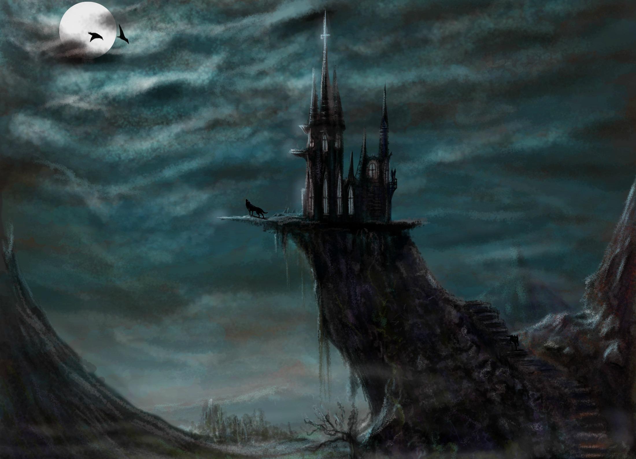 Castle HD Wallpaper | Background Image | 2200x1587 | ID ...