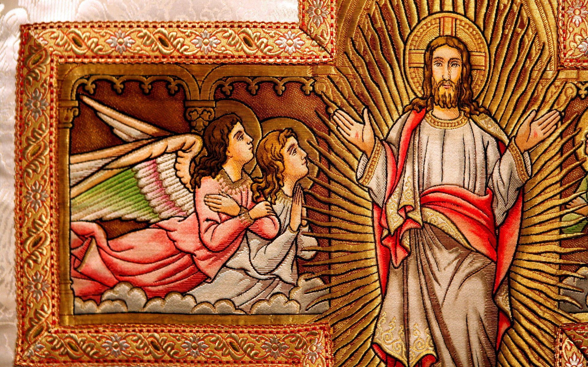 Religioso - Catholic  Jesus Christ Savior God Sfondo