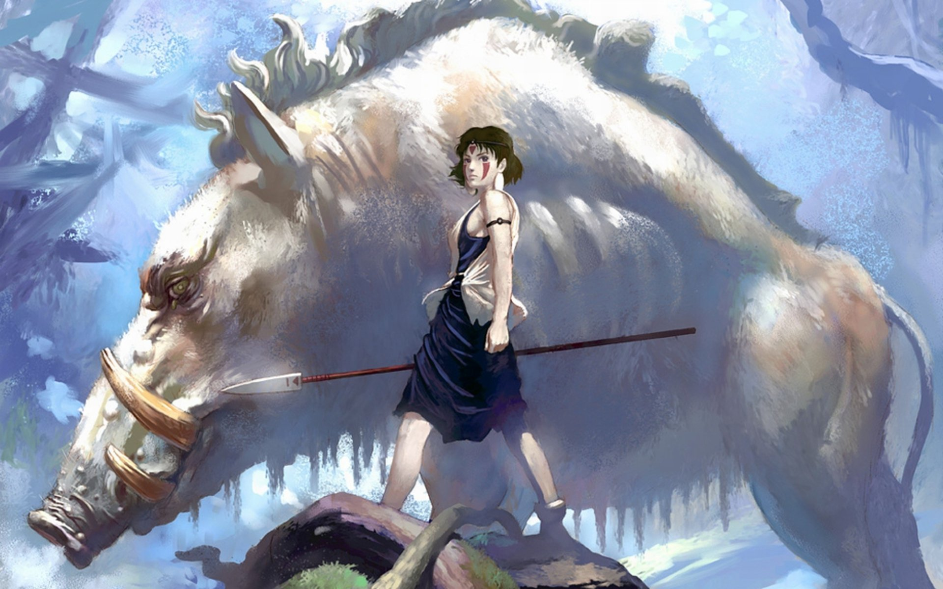 212 Princess Mononoke Hd Wallpapers Background Images Wallpaper Abyss