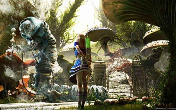 Fantasy Alice In Wonderland HD Wallpaper | Background Image