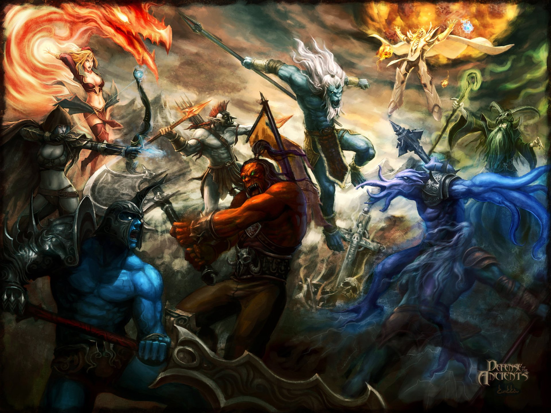 54 DotA HD Wallpapers