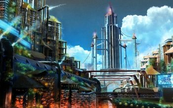 Science-Fiction - Großstadt Wallpapers and Backgrounds ID : 187729