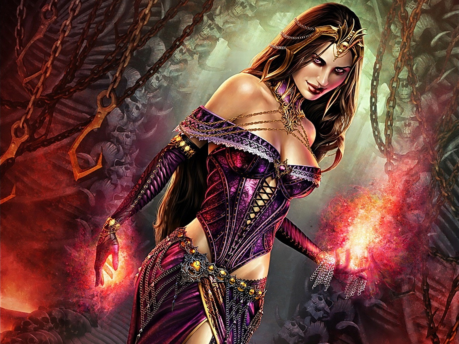 Fantasy - Magic The Gathering  - Liliana  Wallpaper
