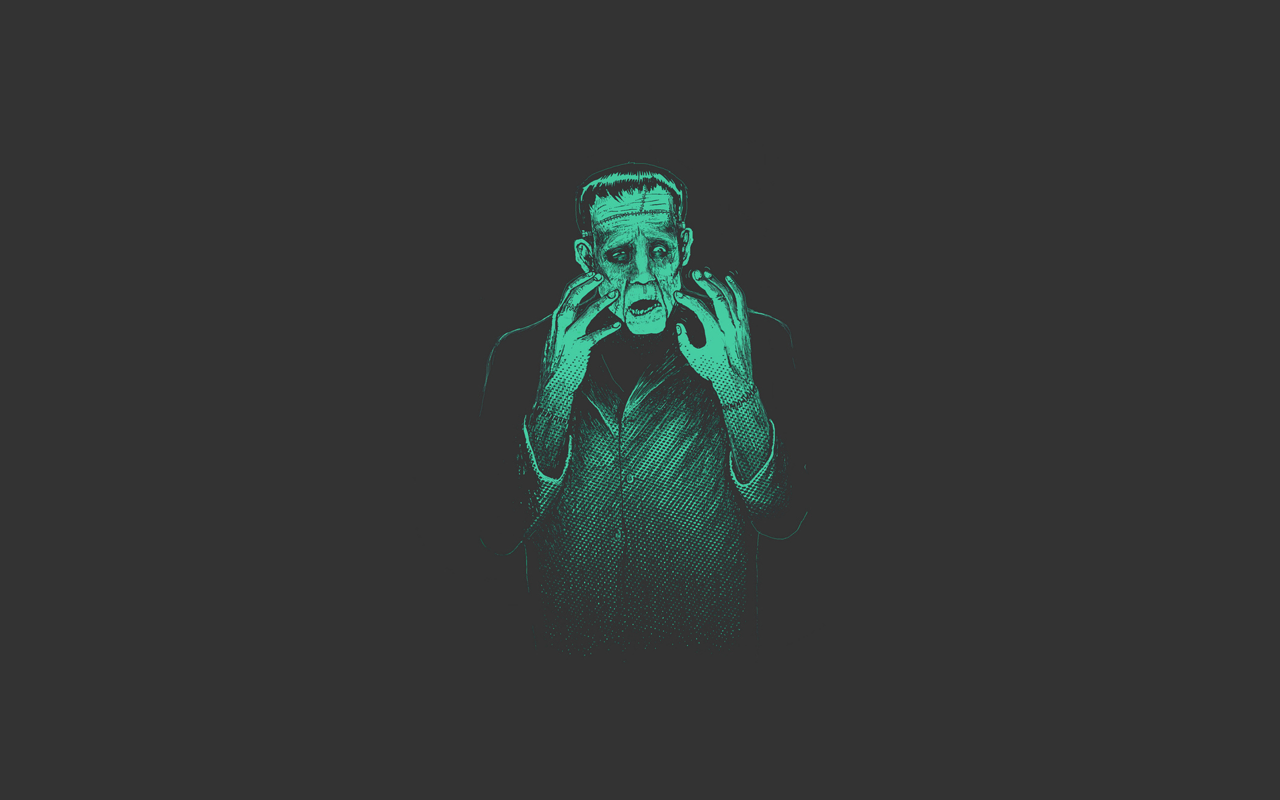 Dark - Frankenstein  Wallpaper