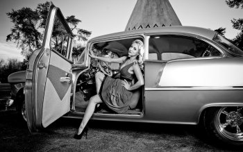 Women - Girls & Cars Wallpapers and Backgrounds ID : 190169