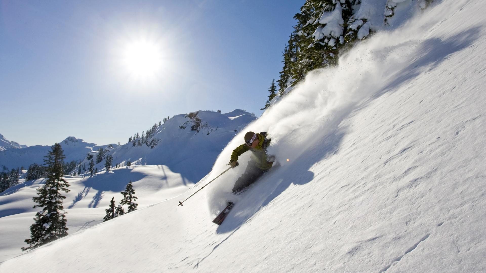 Skiing hd wallpaper background image 1920x1080 id - Ski wallpaper ...