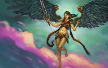 Fantasy - Angel Warrior Wallpapers and Backgrounds ID : 192057
