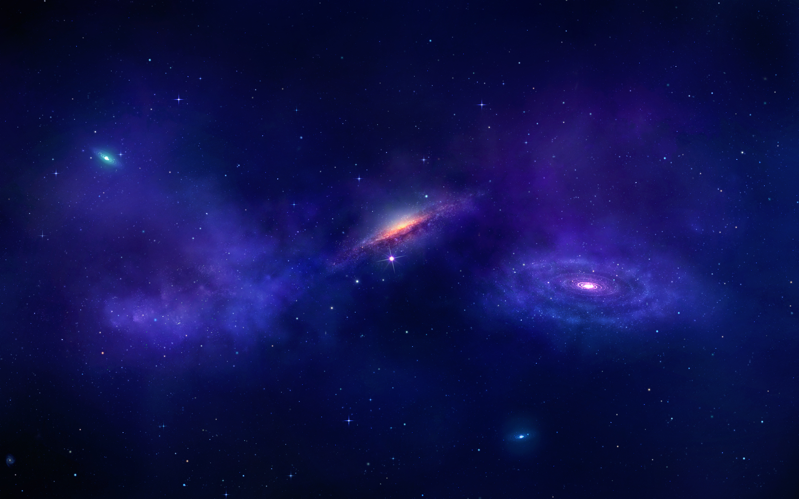Sci Fi - Galaxy  Wallpaper
