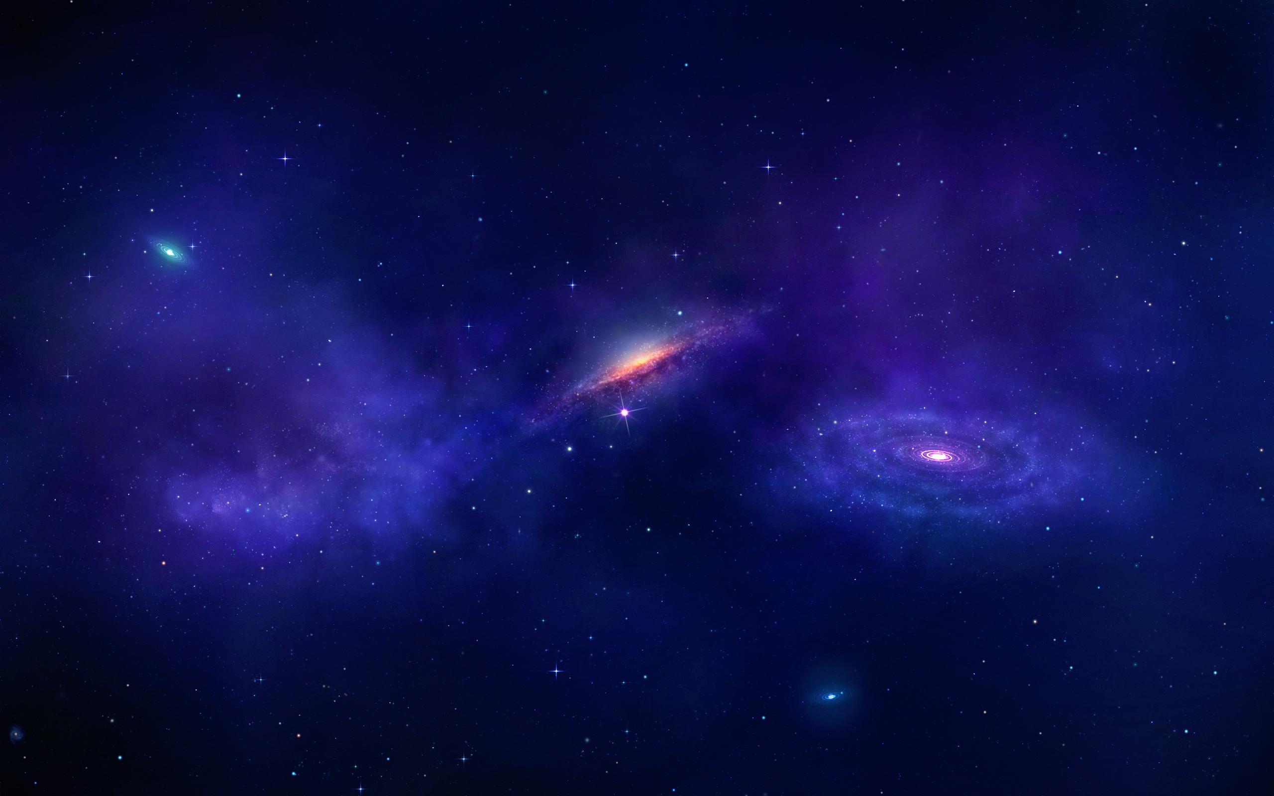 Sci Fi - Galaxy  Nebula Stars Universe Space Wallpaper