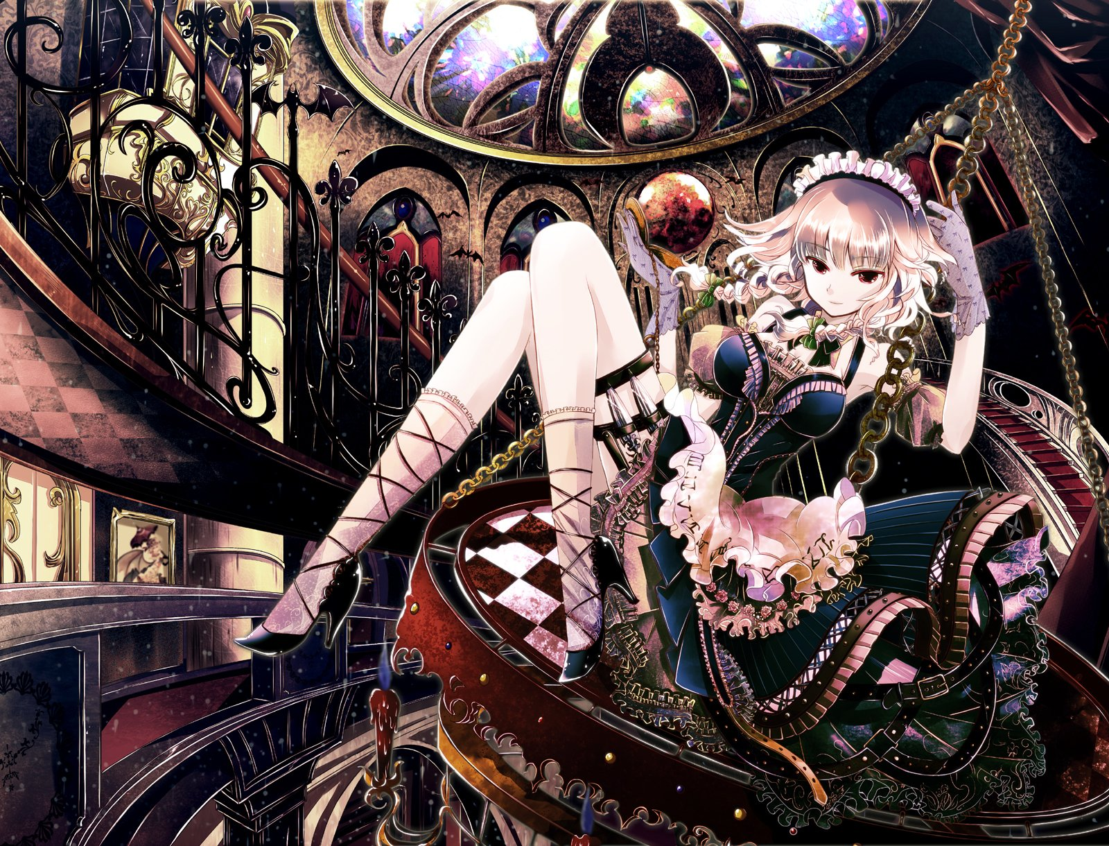 Anime - Touhou  Shrine Maiden Sakuya Izayoi Maid Wallpaper