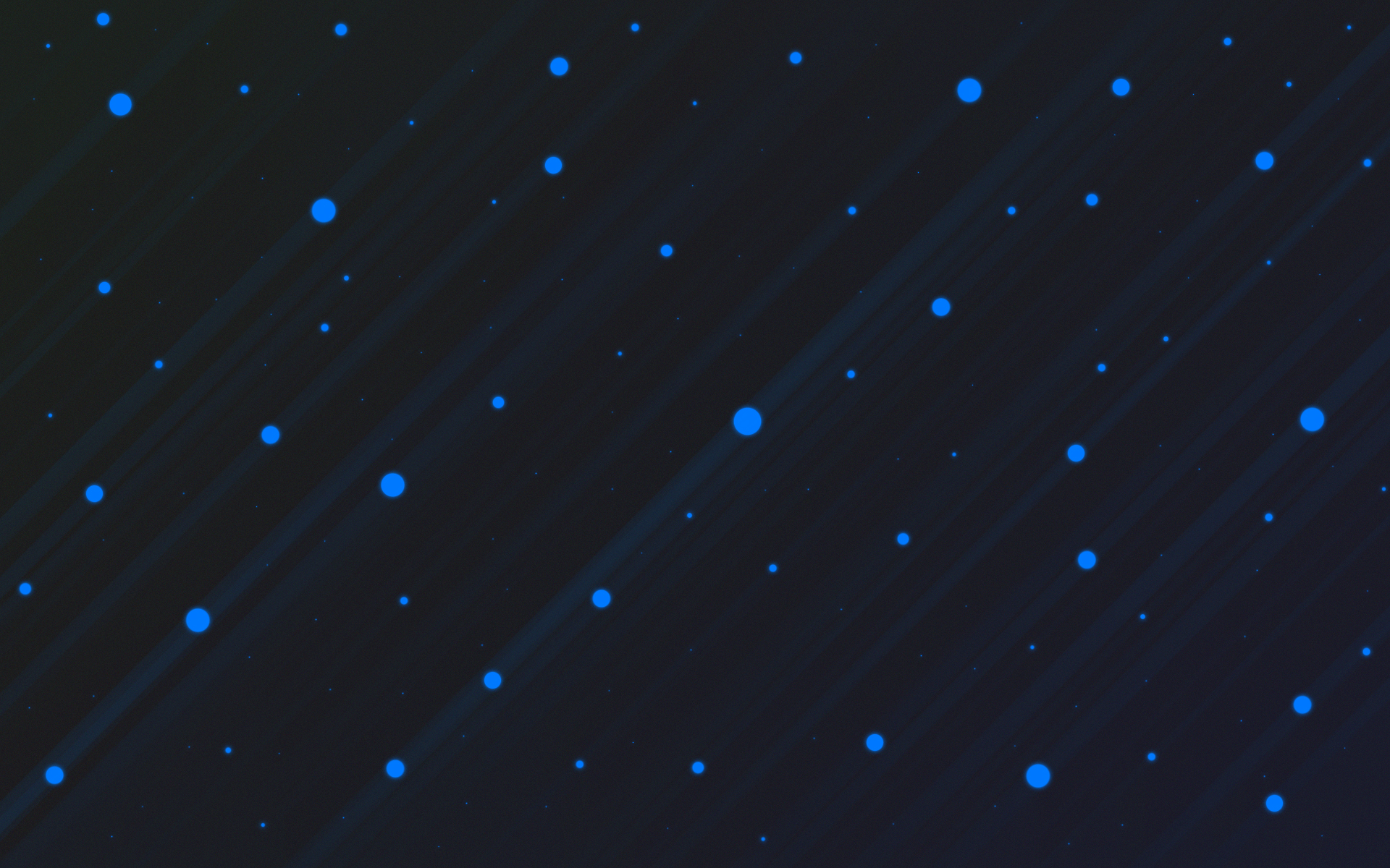 Abstract - Cool  Rain Raining Dots Blue Dark Black Wallpaper