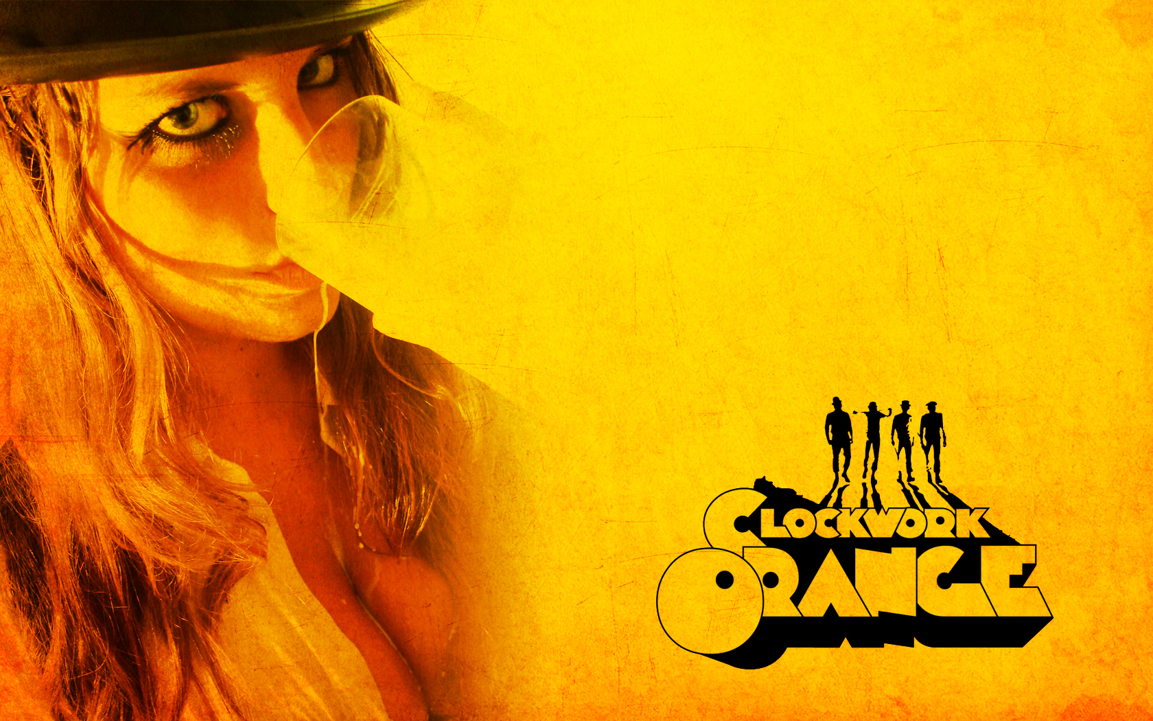 Clockwork Orange Wallpaper and Background | 1680x1050 | ID ... A Clockwork Orange Wallpaper