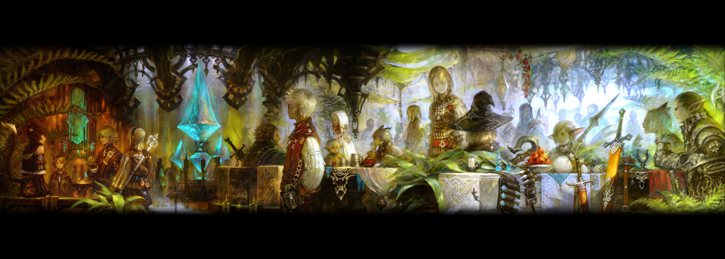 Final Fantasy Wallpaper And Background Image 2489x890 Id