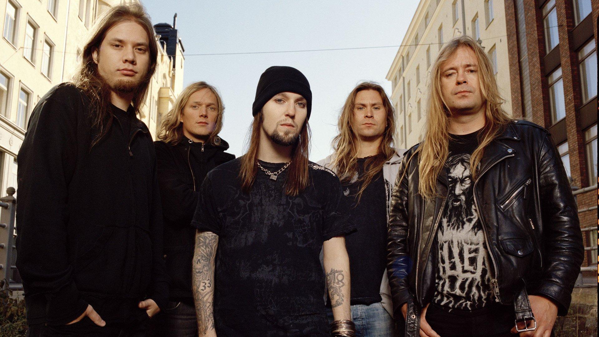 Music - Children Of Bodom  Heavy Metal Thrash Metal Death Metal Wallpaper