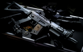 Weapons - Assault Rifle Wallpapers and Backgrounds ID : 19627