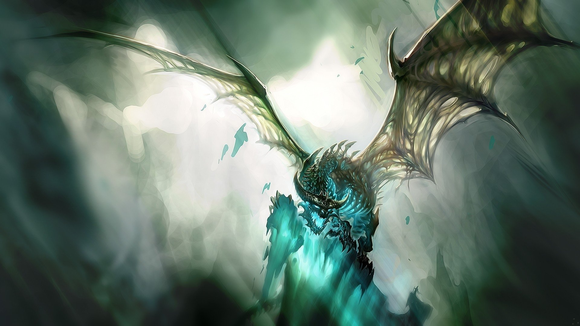 Video Game - World Of Warcraft  Dragon Fantasy Wallpaper
