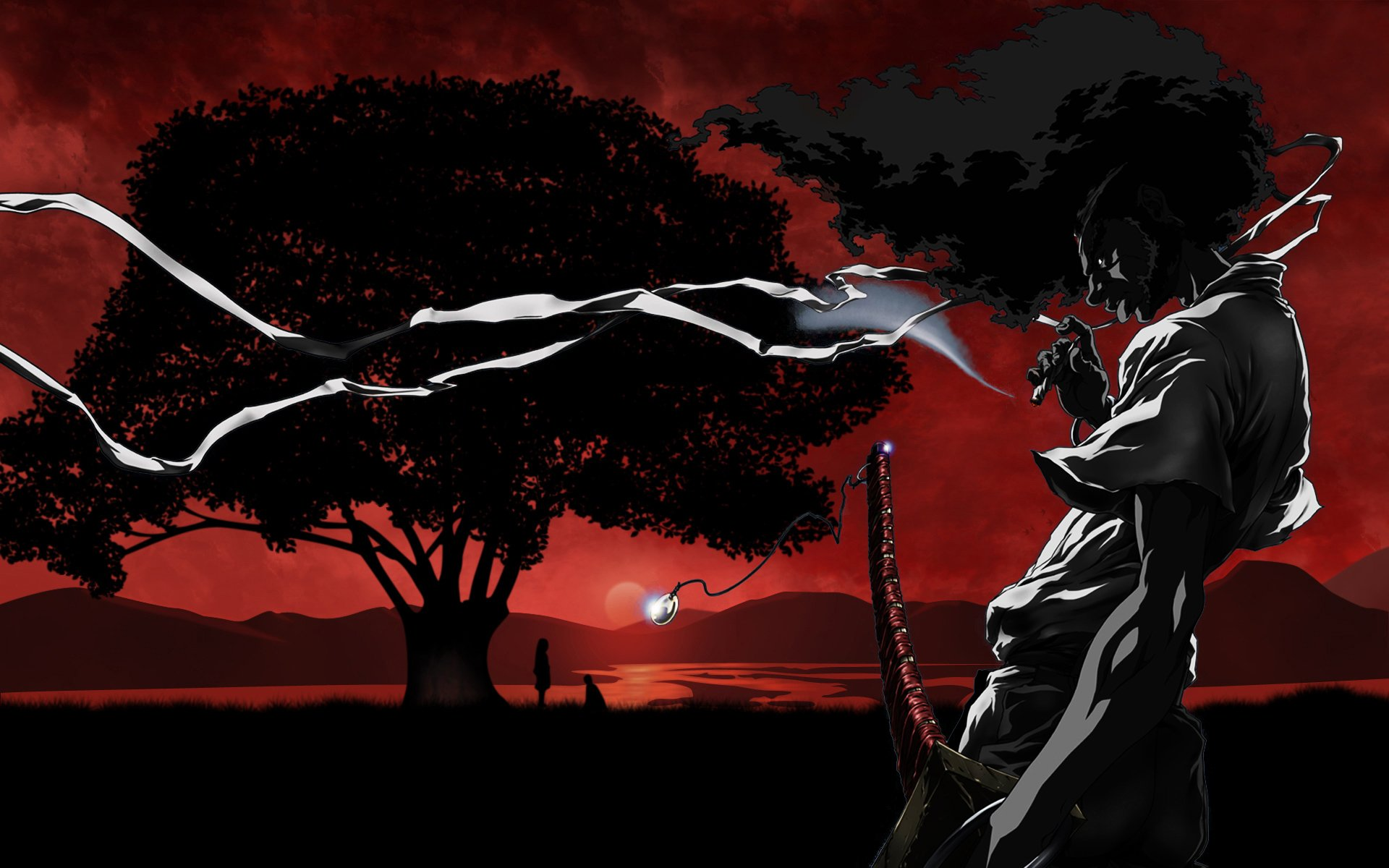 Afro Samurai Full Hd Wallpaper And Background Image  1920X1200  Id197555-3010
