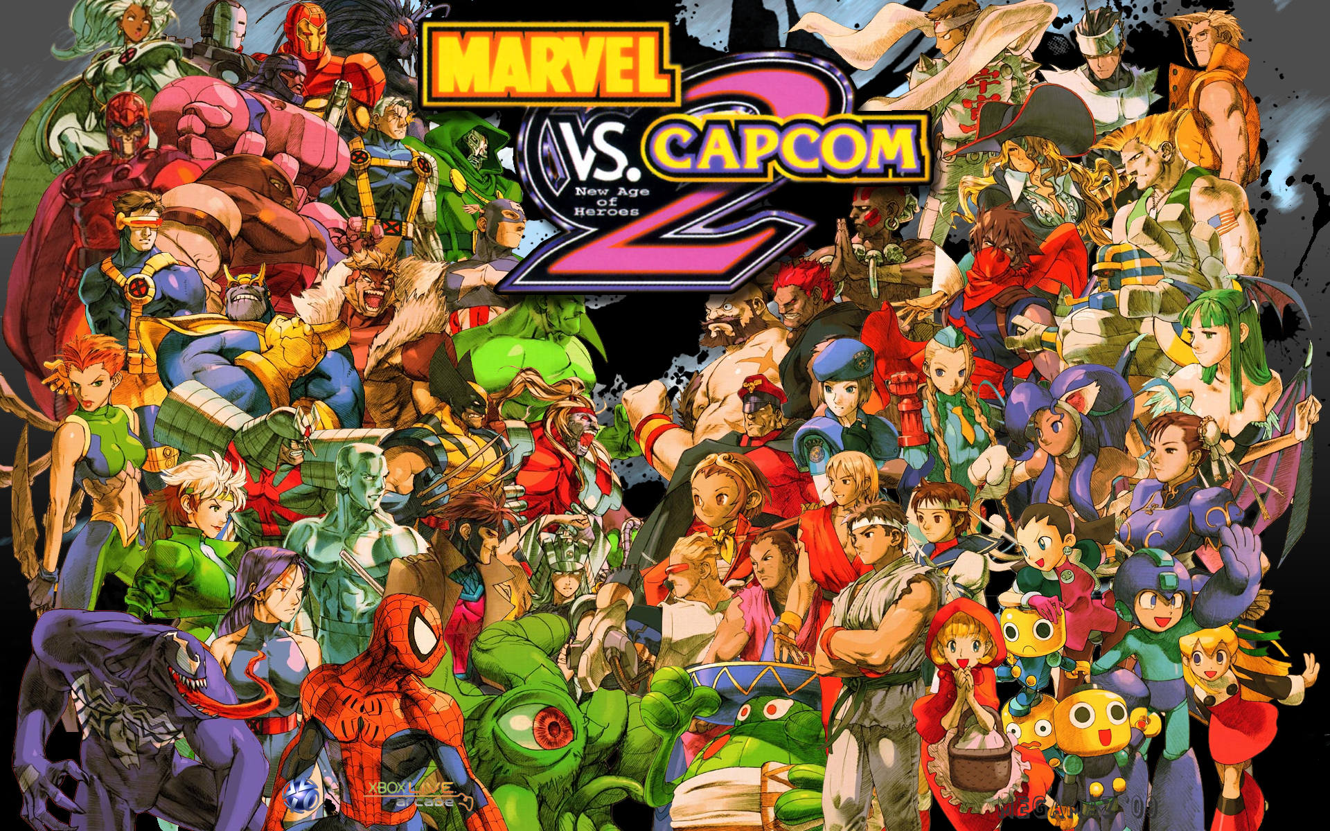 10 Marvel Vs Capcom 2 Hd Wallpapers Background Images