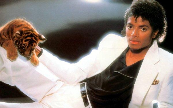 Música Michael Jackson Cantantes Estados Unidos Tigre Fondo de pantalla HD | Fondo de Escritorio