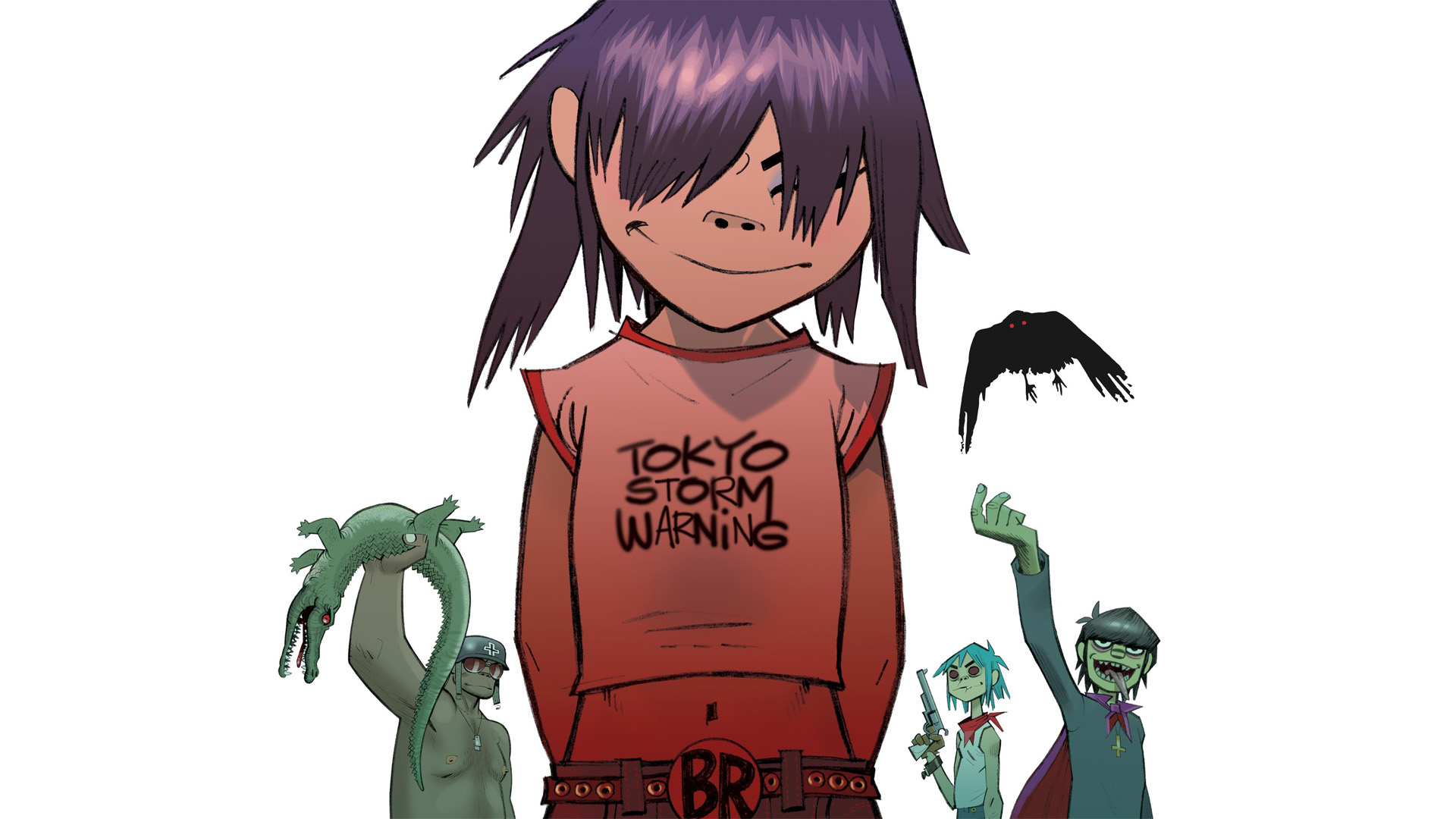 download wallpaper gorillaz desktop - photo #43