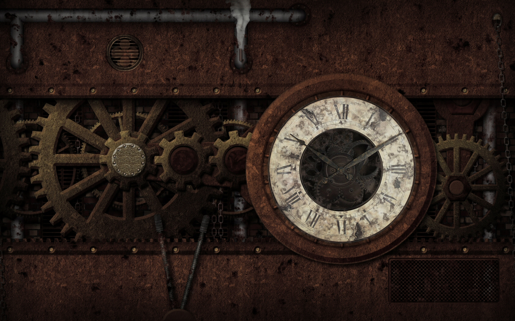 steampunk wallpaper and background image 1680x1050 id