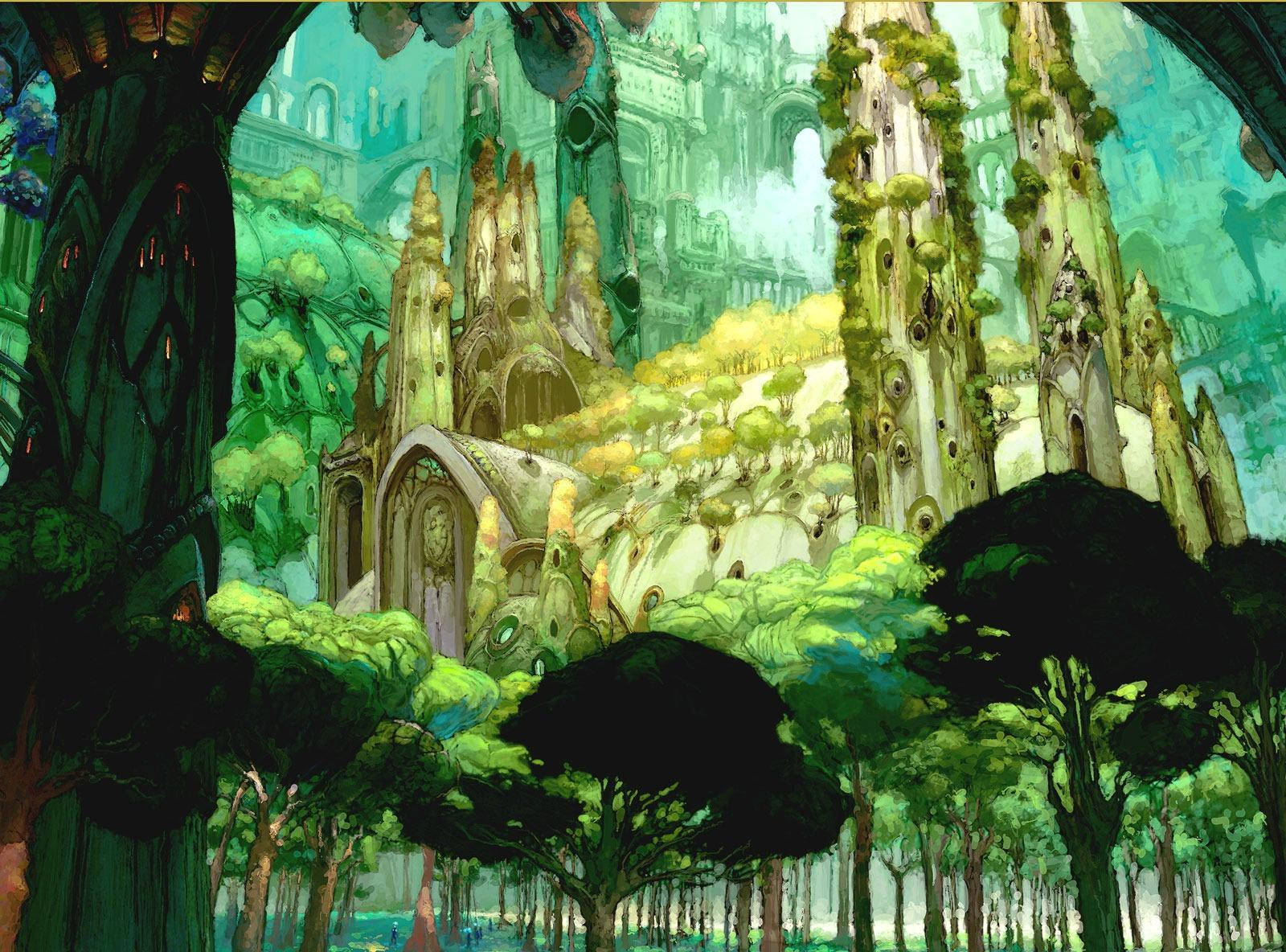 Anime - Scenic  Wallpaper