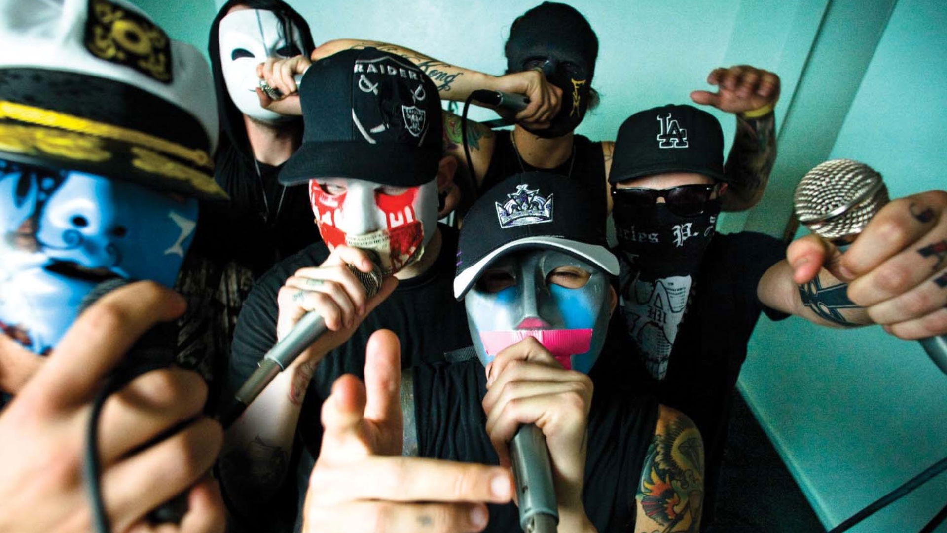 Hollywood Undead HD Wallpaper