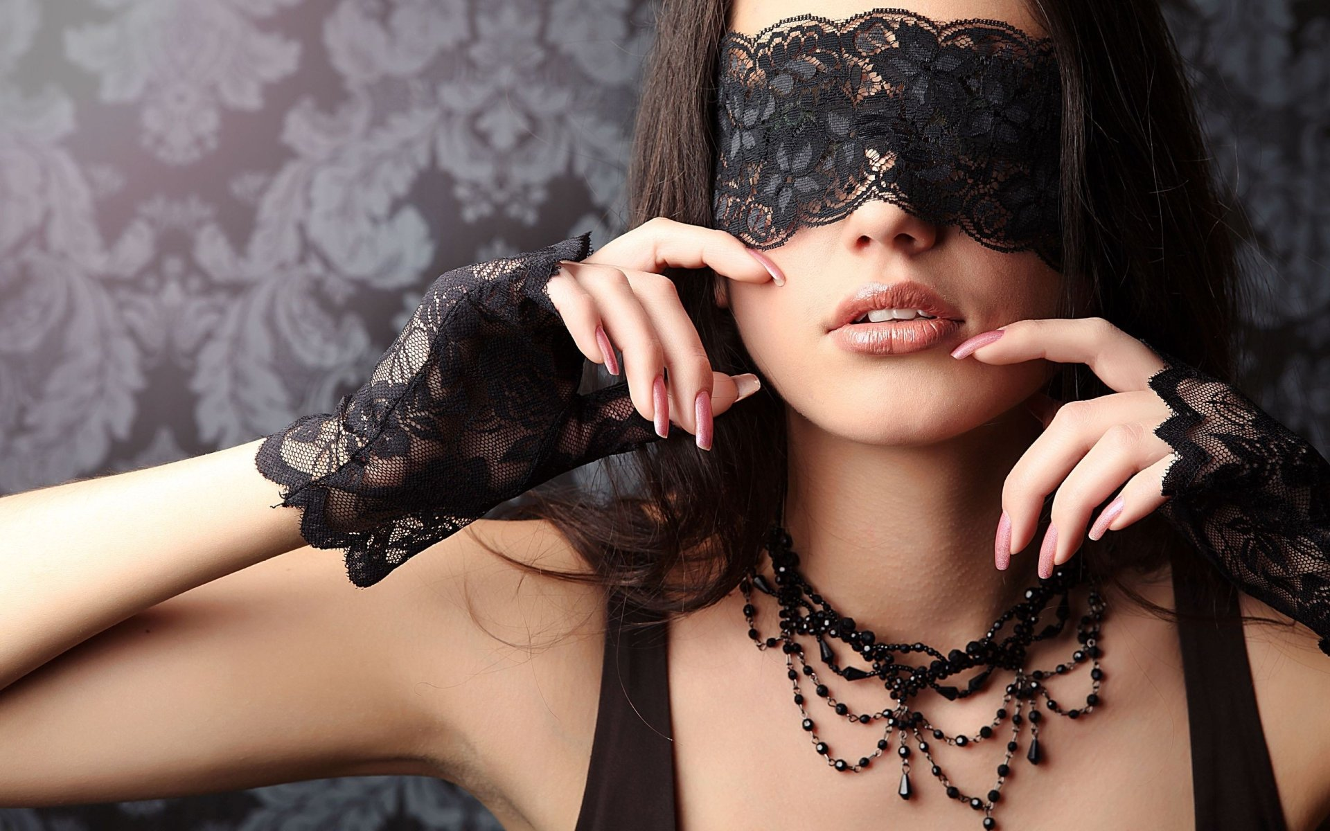 Women - Gothic  Woman Sensual Wallpaper