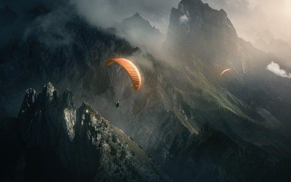 Sports Parachutisme Parachuting Fond d'écran HD | Image
