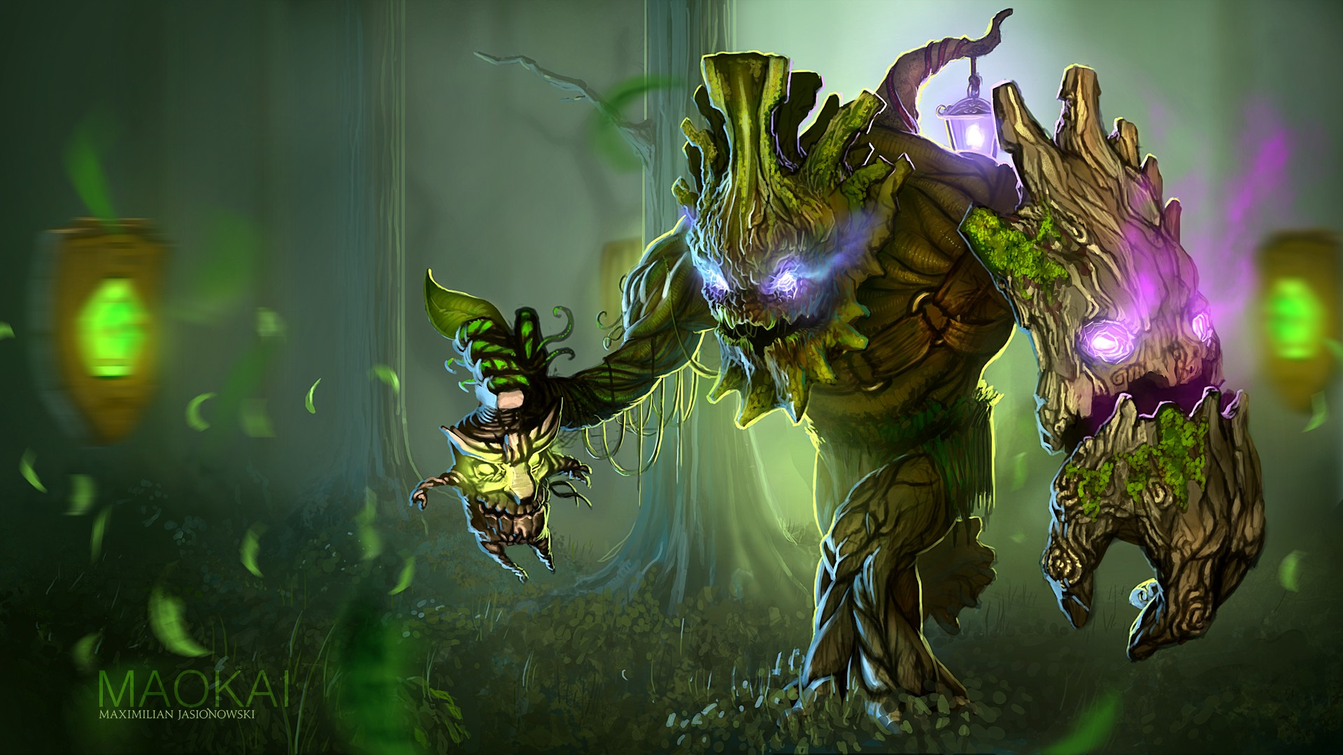 Hd Wallpapers Artworks For League Of: 20 Maokai (League Of Legends) HD Wallpapers